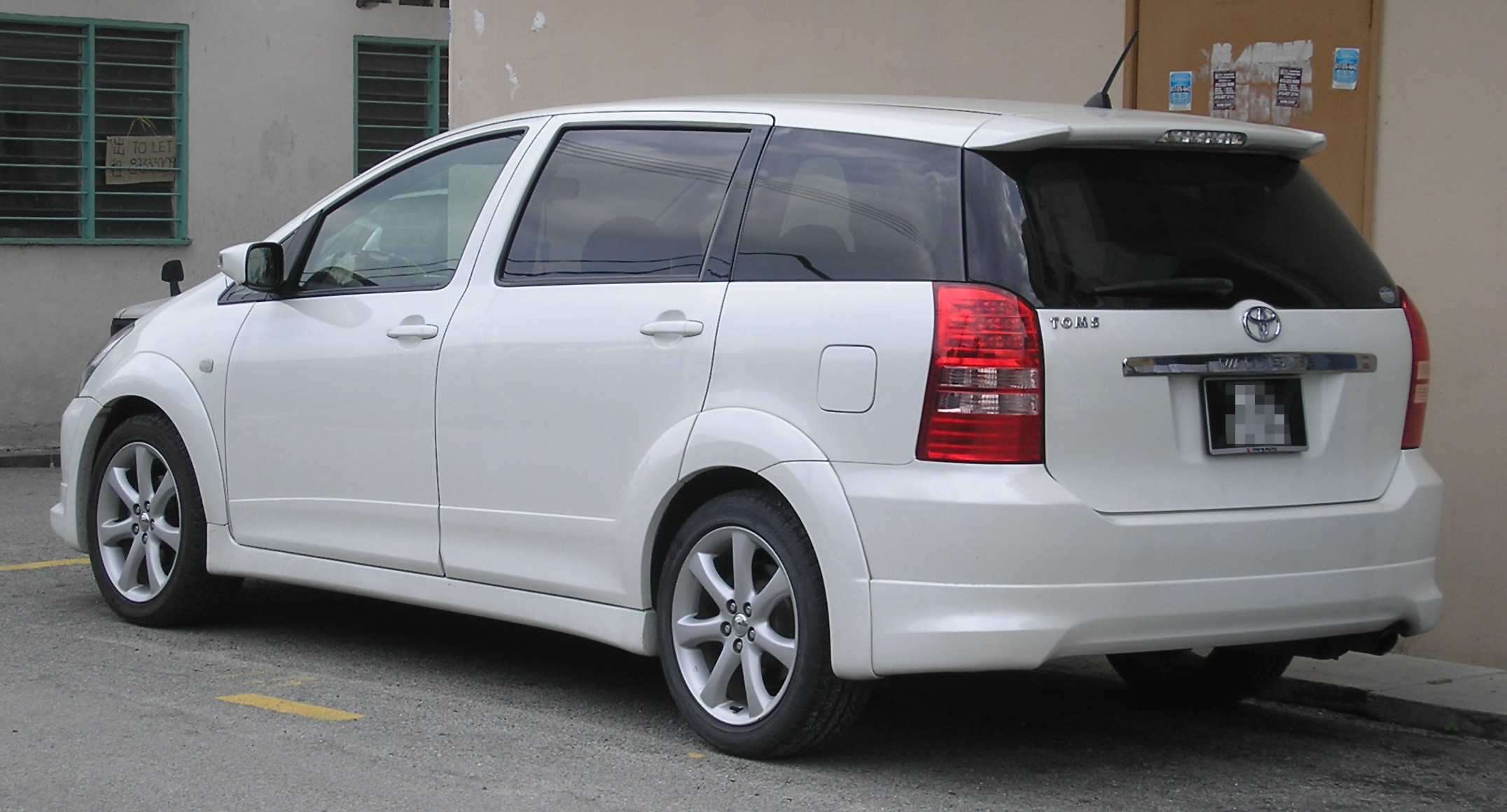 File Toyota Wish First Generation Rear Kajang Jpg