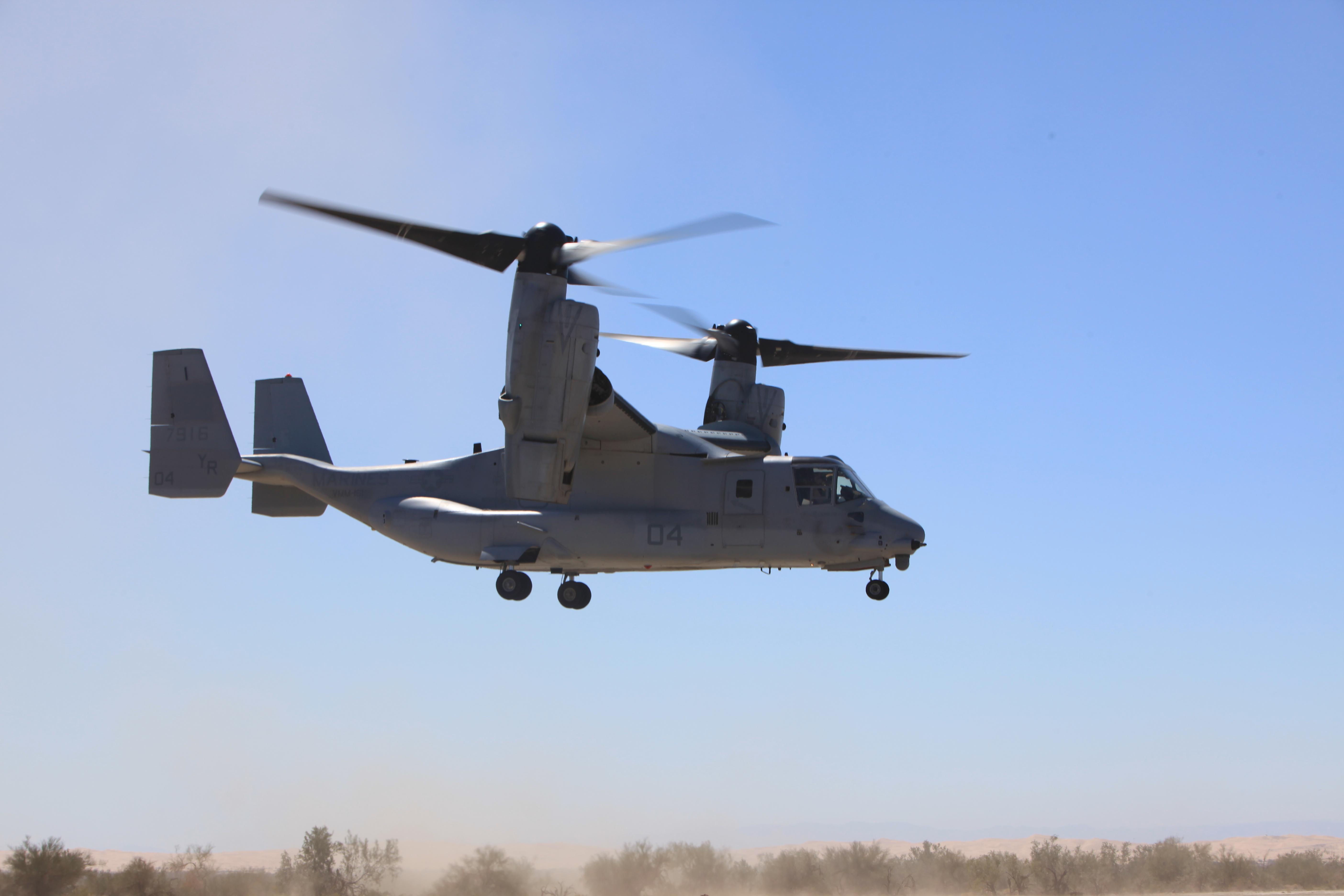 Elicottero Osprey : File u s marine corps mv b osprey aircraft with