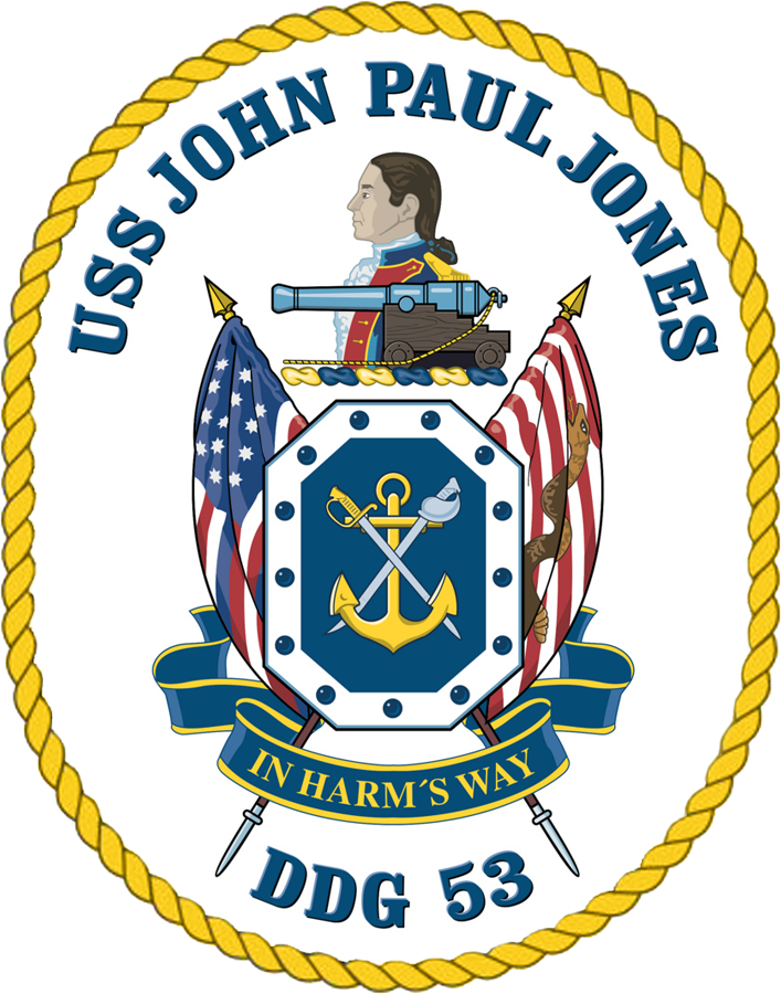 USS John Paul Jones DDG-53 Crest.png