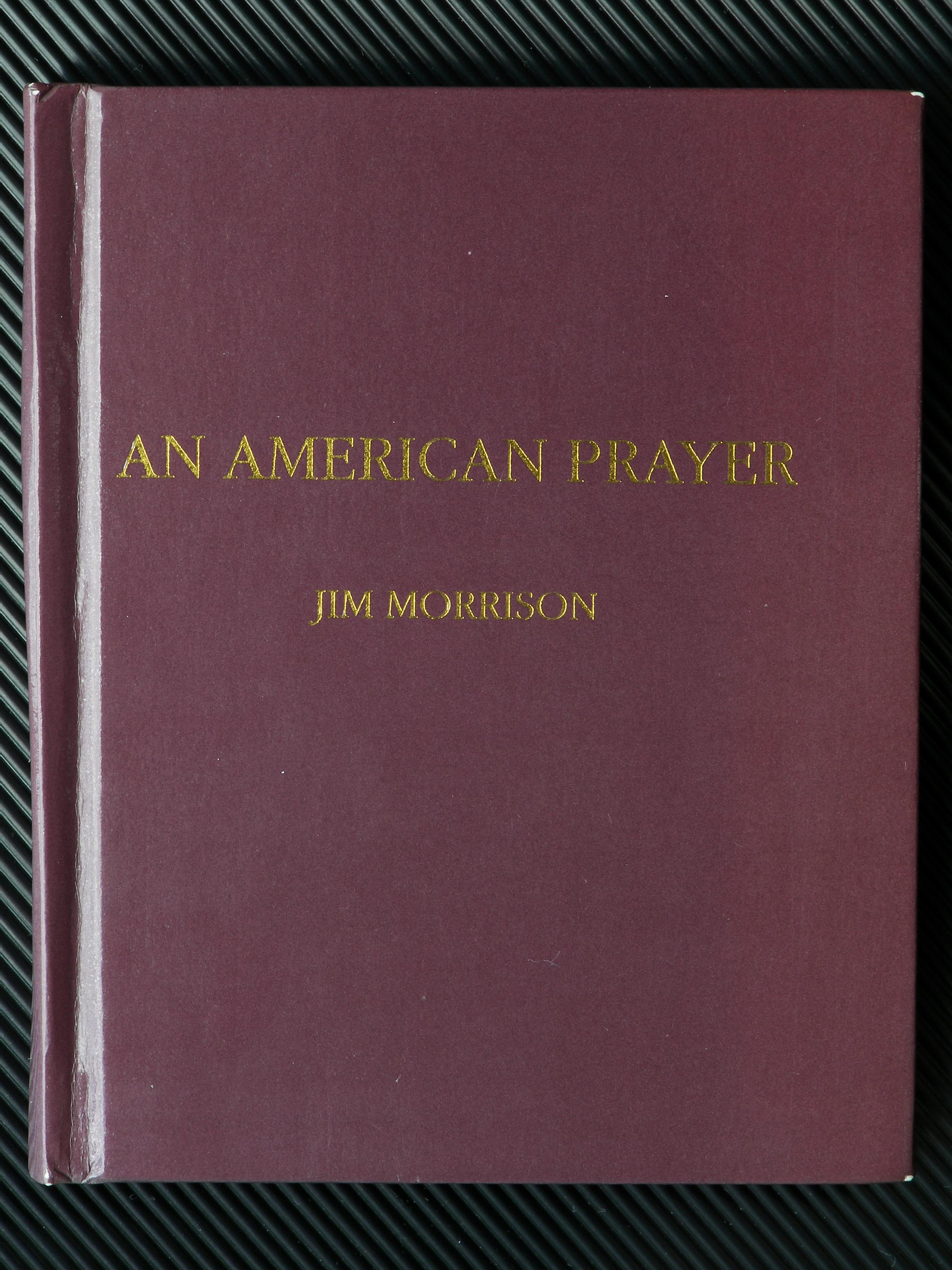 File:Umschlag Gedichtband An American Prayer von Jim