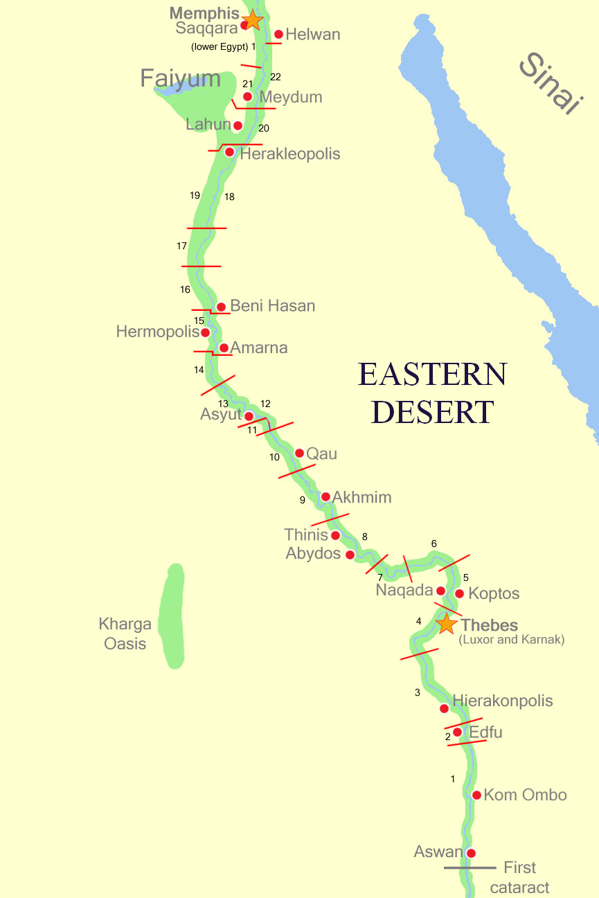 FileUpperEgyptNomespng Wikimedia Commons - Map of upper egypt