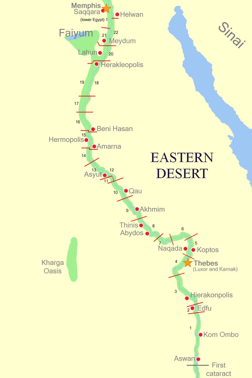FileUpperEgyptNomespng Wikimedia Commons - Map of upper egypt