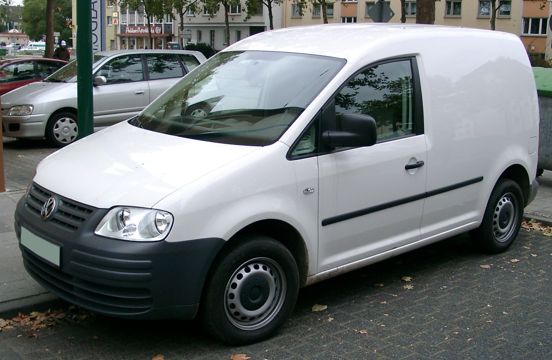 File:VW Caddy front 20071026.jpg - Wikimedia Commons