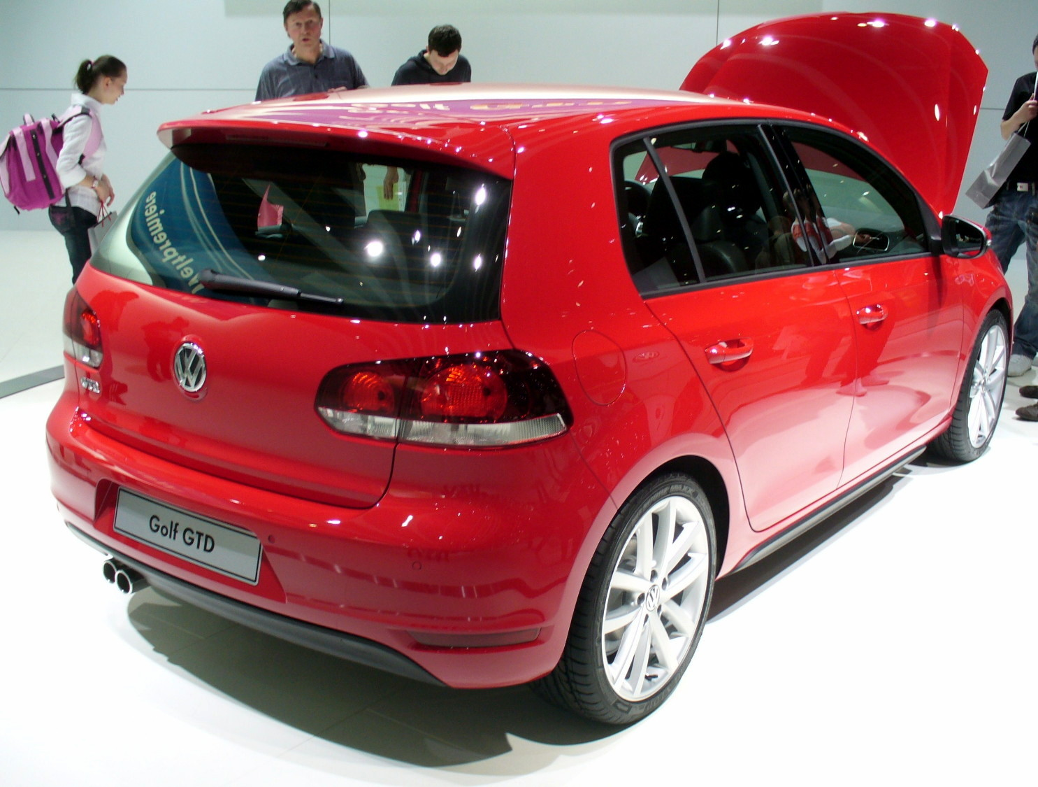 file vw golf v gtd heck jpg wikimedia commons. Black Bedroom Furniture Sets. Home Design Ideas