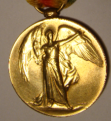 English: Photograph of victory medal