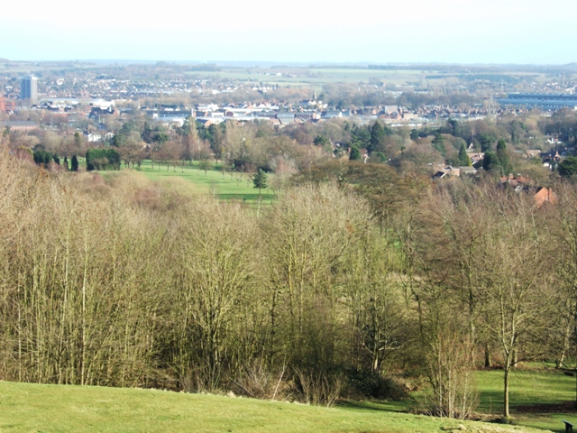 View from Stafford Castle - geograph.org.uk - 1136216