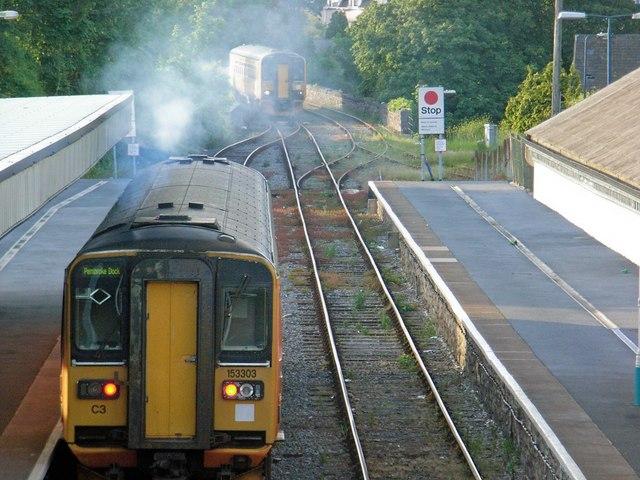 Tenby railway station