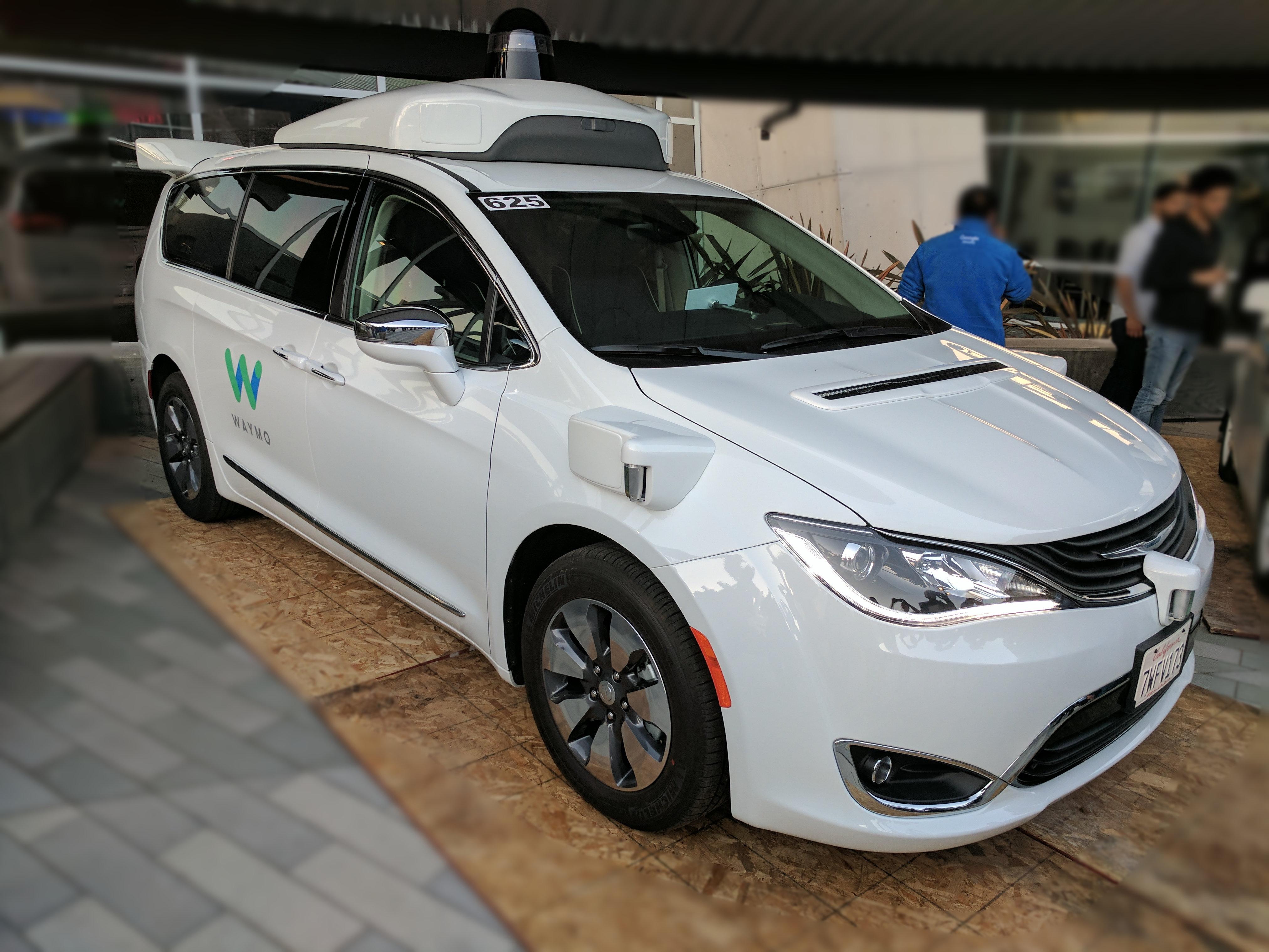 Waymo Pacifica Driverless Minivan