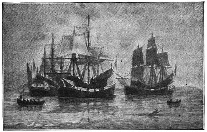 the immigration of puritans from england to america Waves of immigration in america print  southwest for christian converts), puritans  20 percent of the immigrants entering america and only about 10.