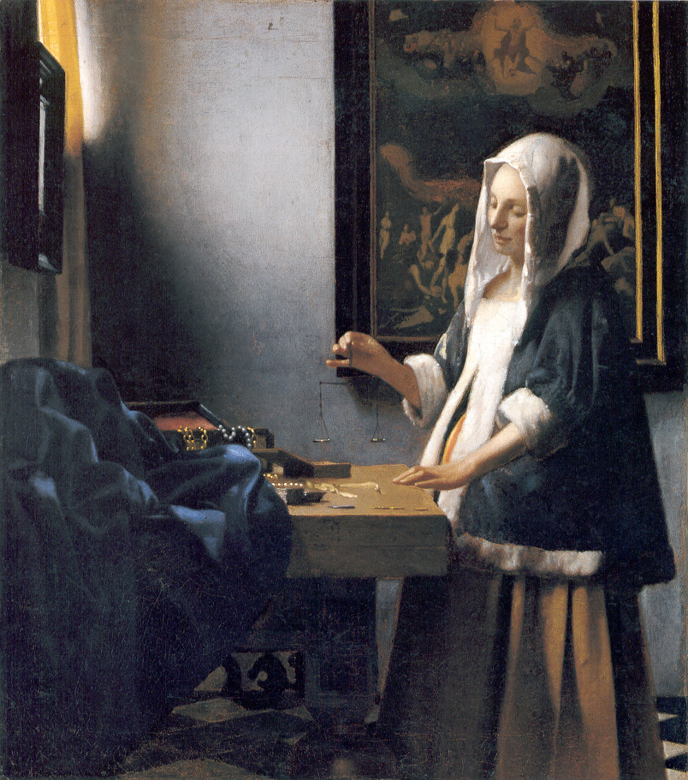 http://upload.wikimedia.org/wikipedia/commons/7/72/Woman-with-a-balance-by-Vermeer.jpg