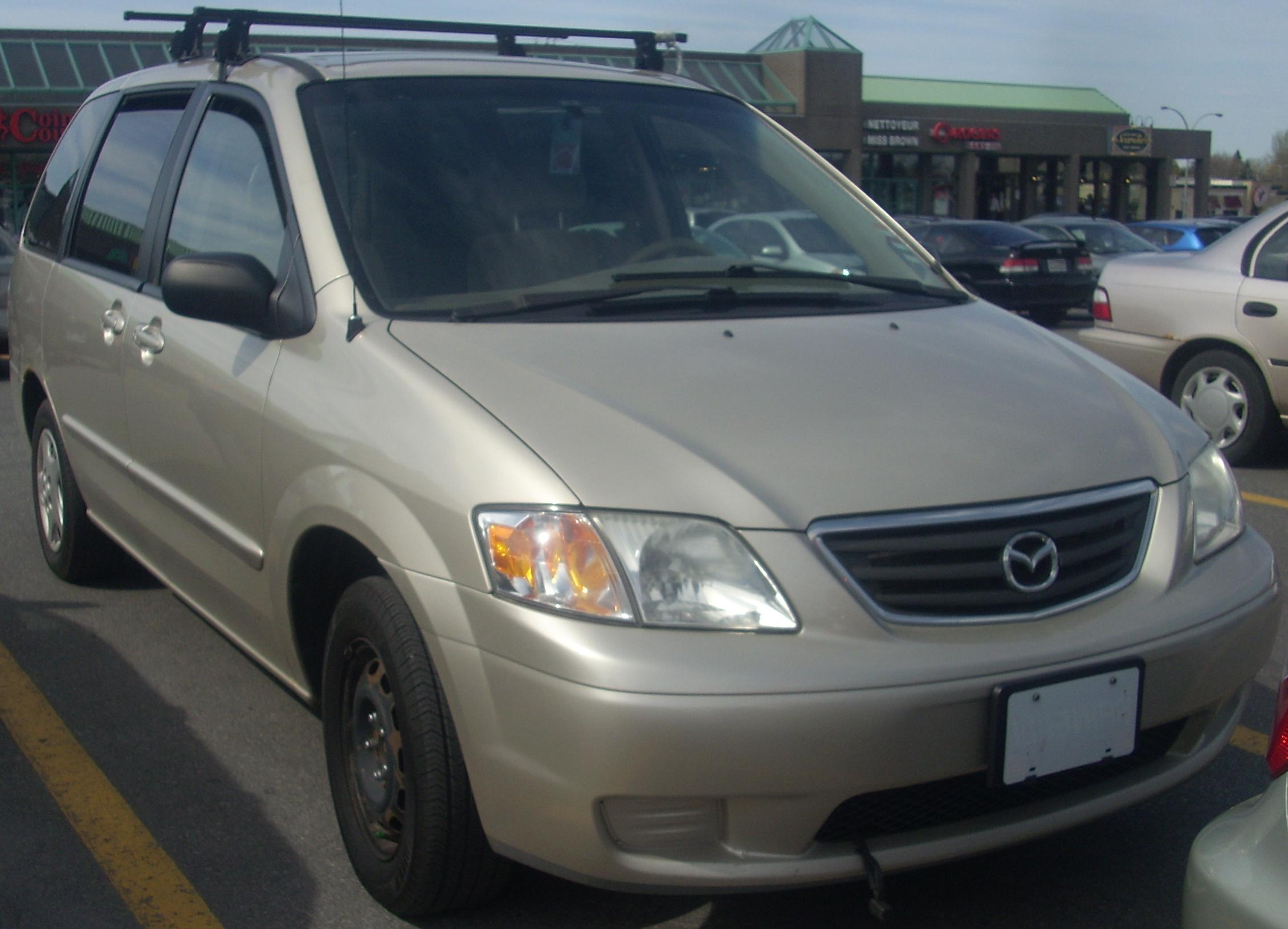 File:'00-'01 Mazda MPV ES.jpg - Wikimedia Commons