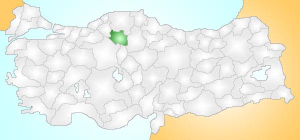 ILGAZ KAVAKLI KÖYÜ GENEL BİLGİLERİ %C3%87ank%C4%B1r%C4%B1_Turkey_Provinces_locator