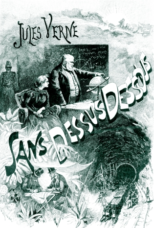 An analysis of the gun club in from the earth to the moon and around the moon by jules verne