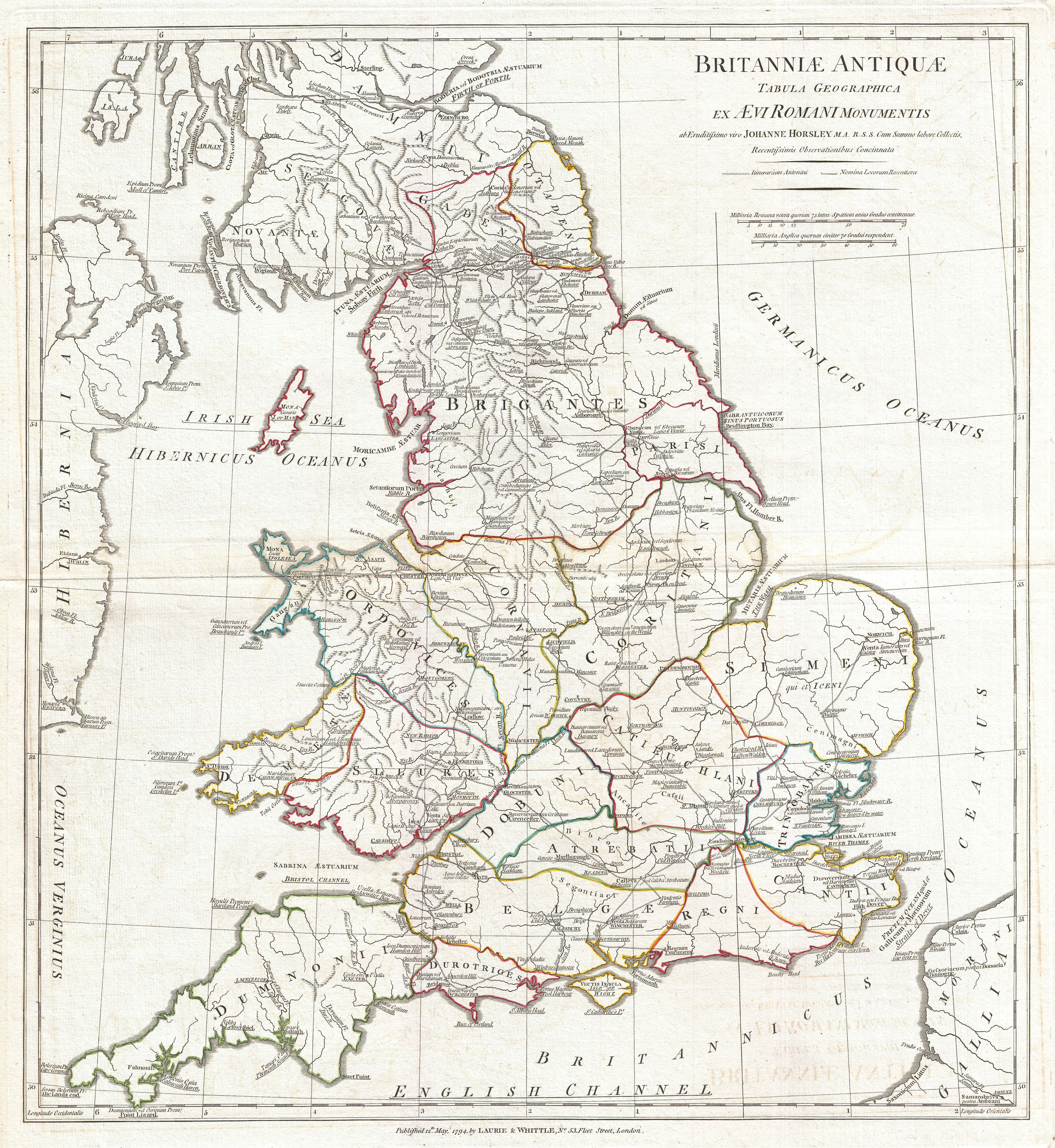 File:1794 Anville Map of England in ancient Roman times