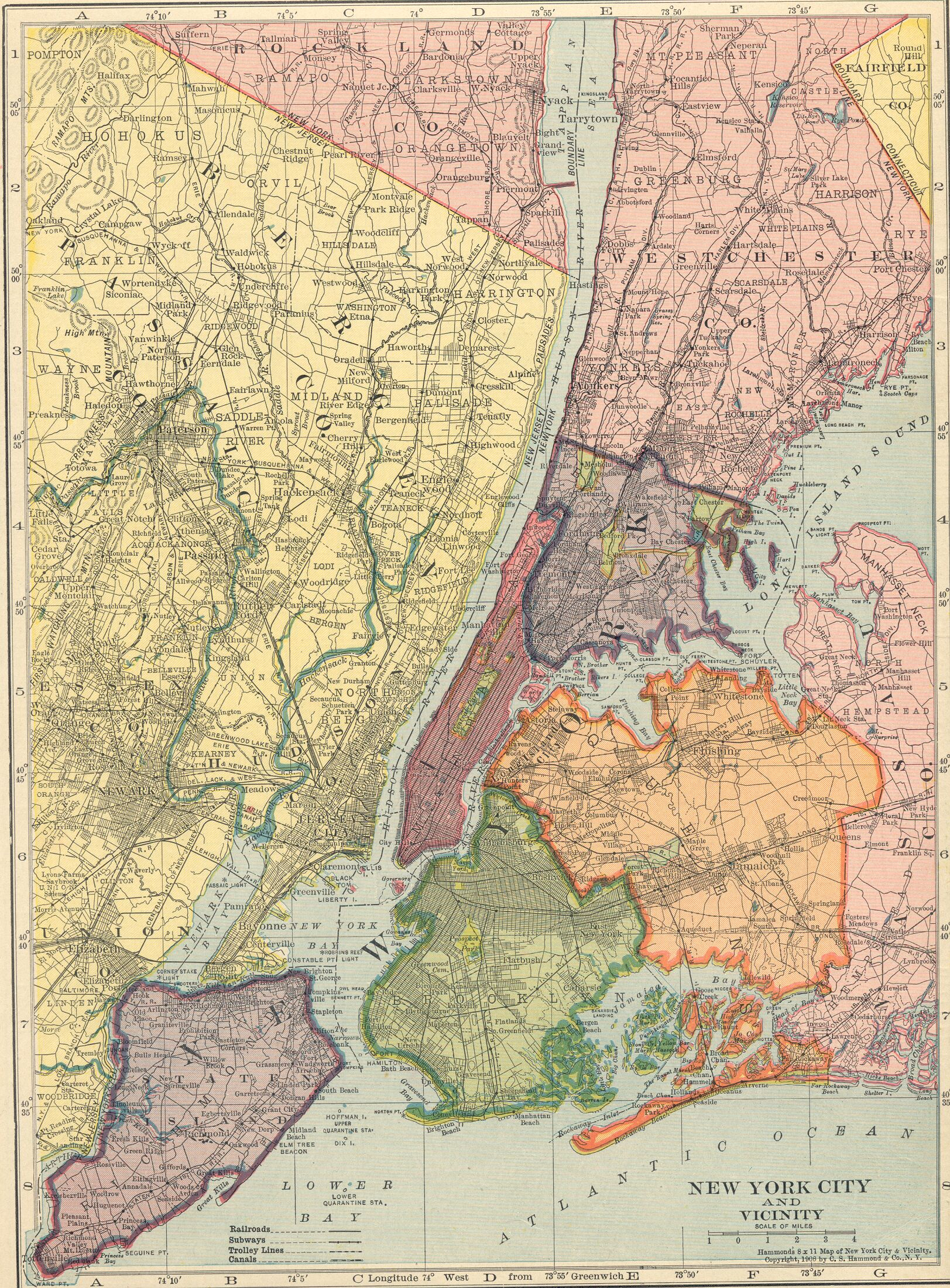 File:1906 NYC vicinity map.jpg - Wikimedia Commons on