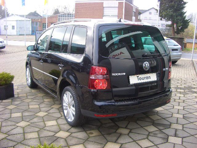 file 2007 vw touran rear jpg wikipedia. Black Bedroom Furniture Sets. Home Design Ideas