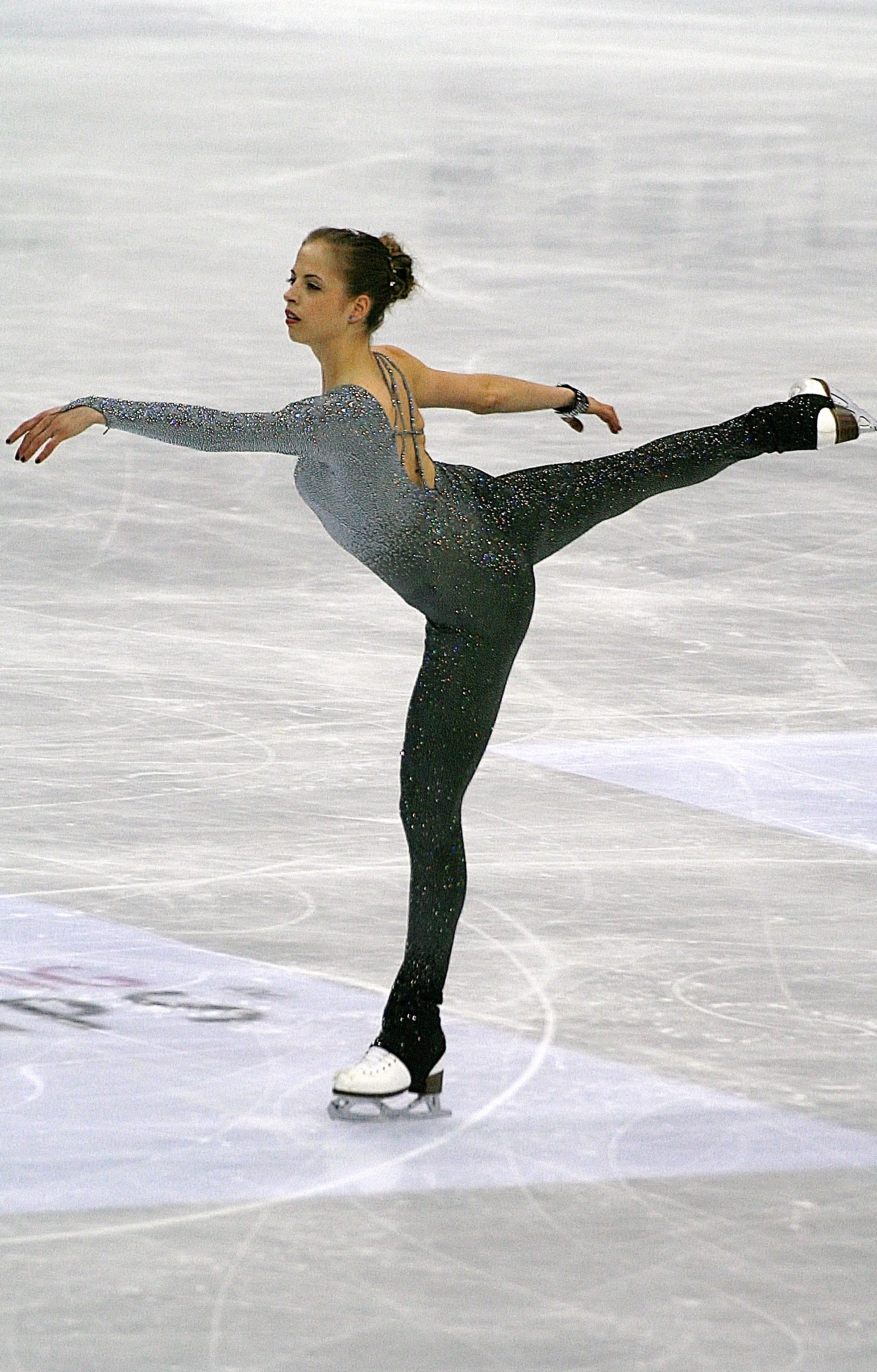 Carolina Kostner durante il programma libero ai mondiali 2012