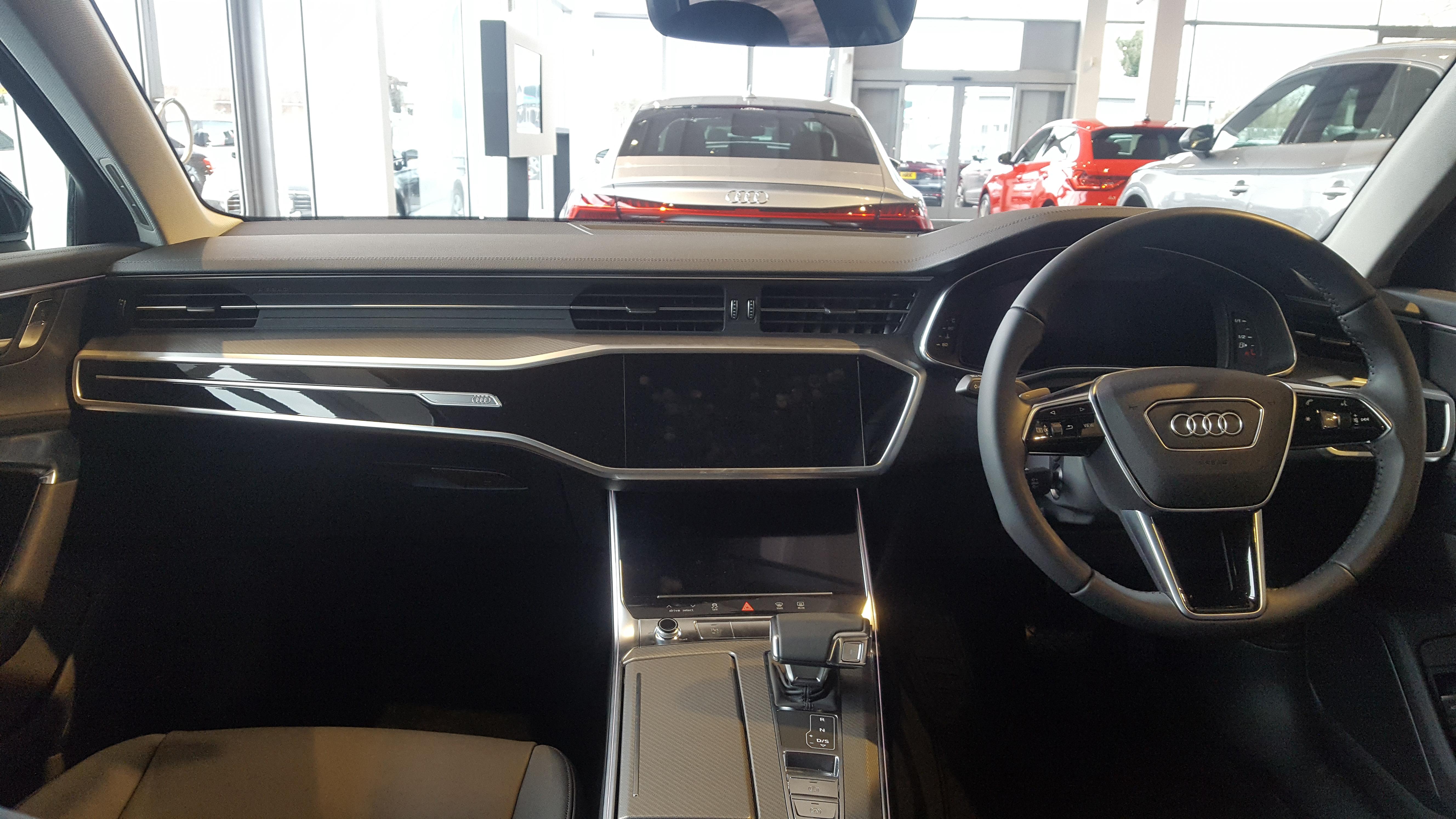 File2019 Audi A6 Avant Tdi 40 Interiorjpg Wikimedia Commons