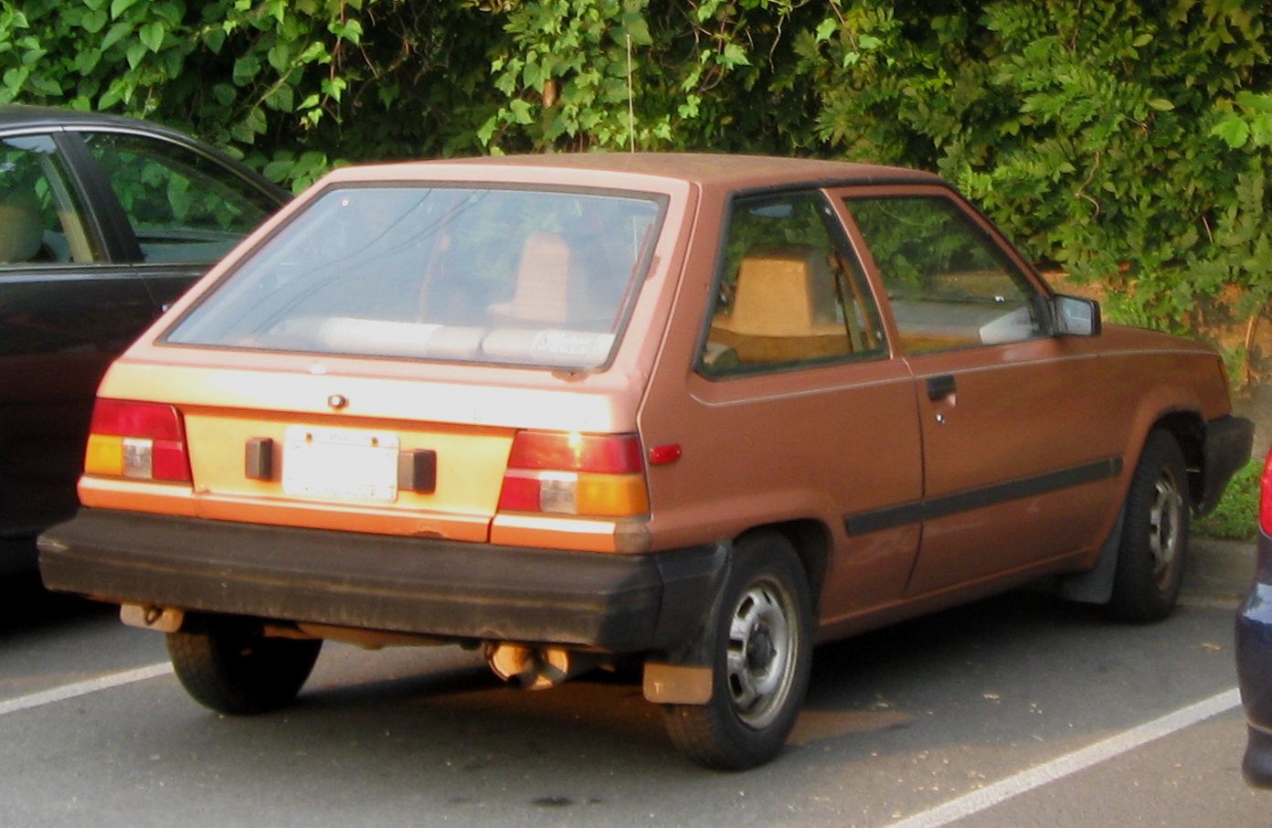File 2nd Toyota Tercel 3 Door Jpg Wikipedia