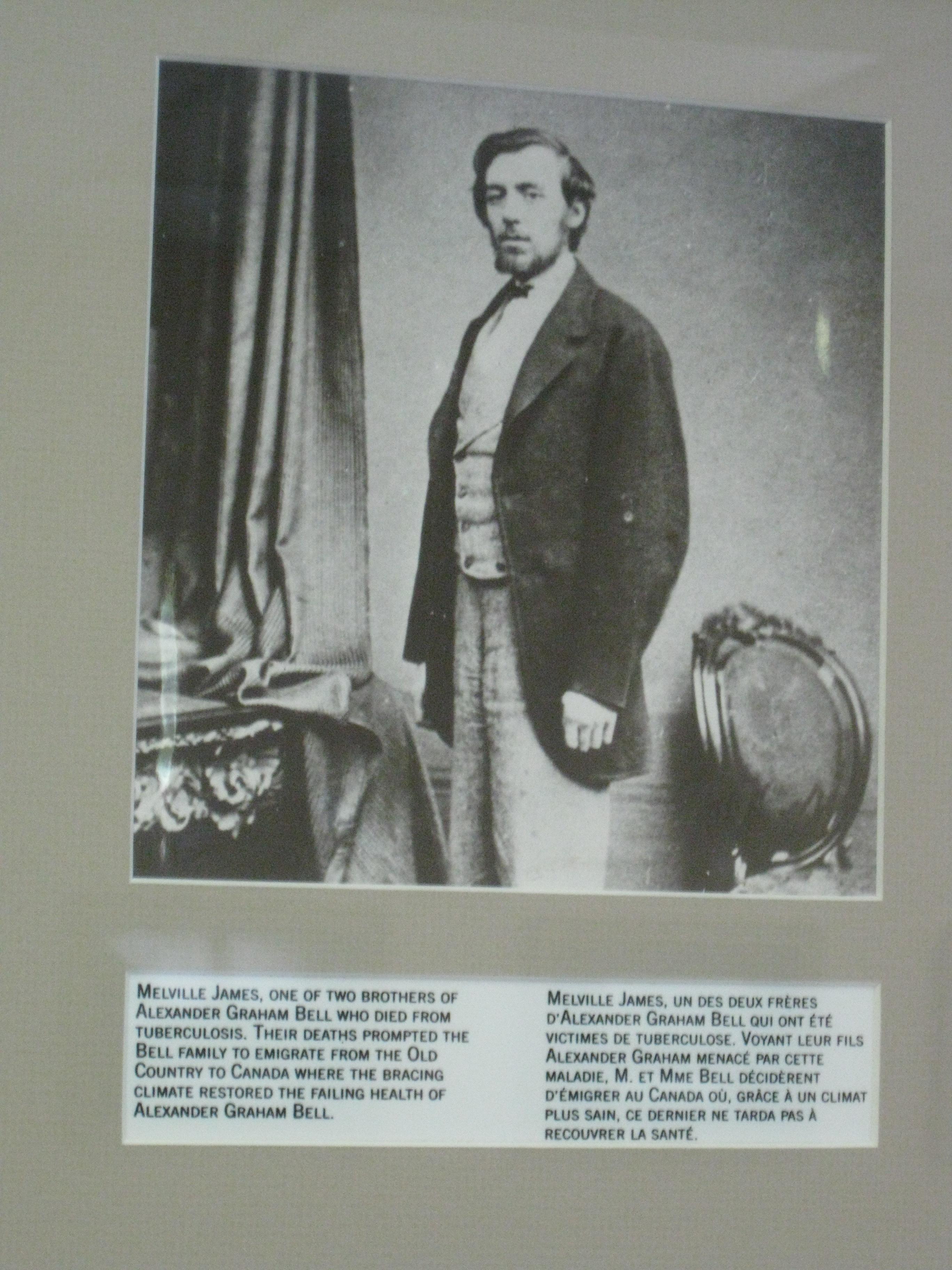 File:Alexander Graham Bell in Brantford, Ontario, Canada -Melville ...