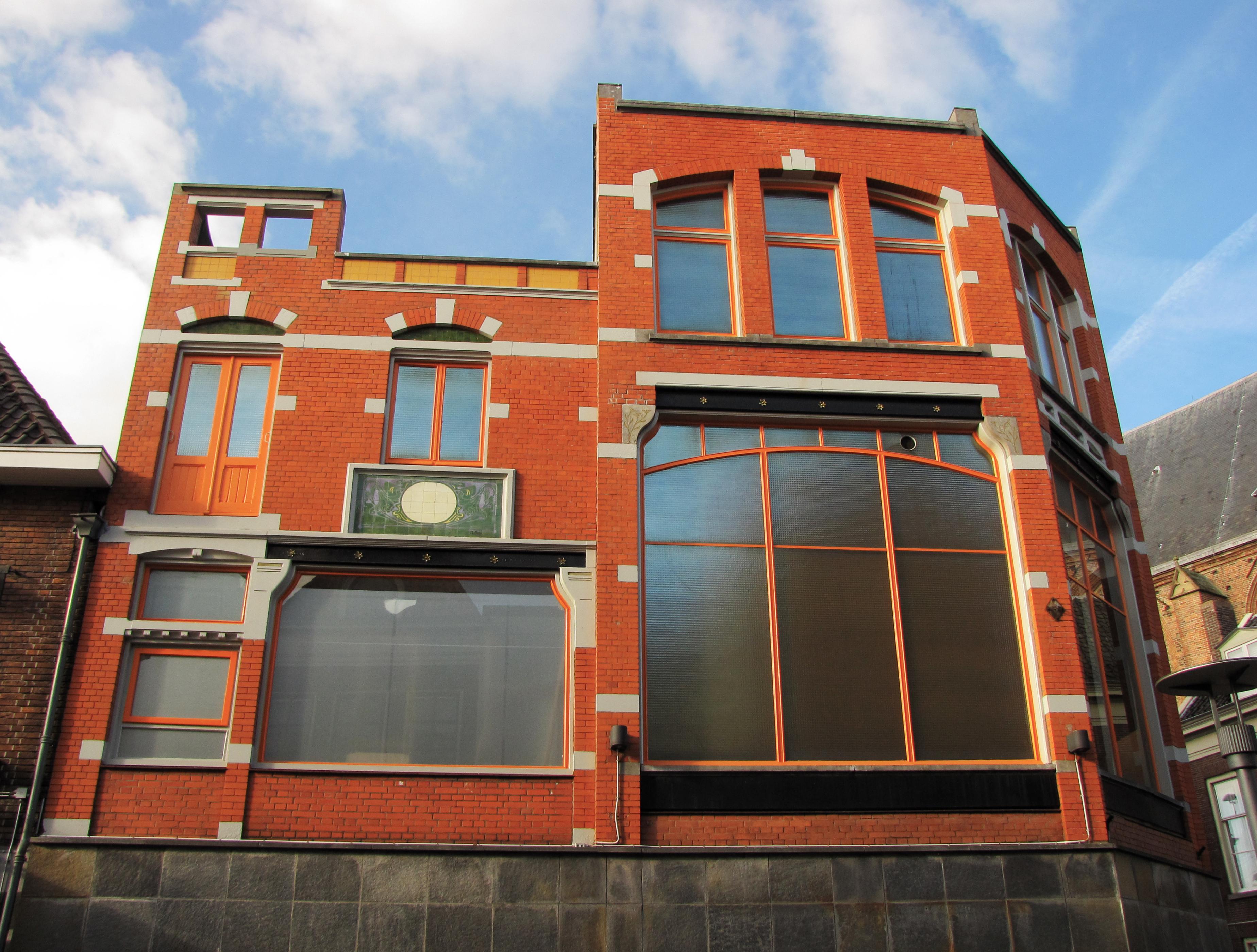 File:Amersfoort, Langestraat 76 oostgevel GM0307-60.jpg