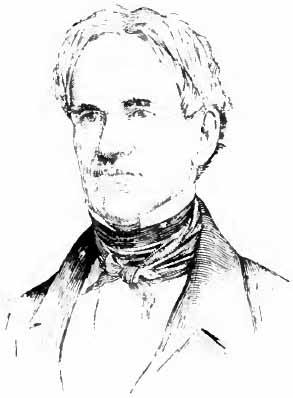 English: Portrait drawing of American educator...