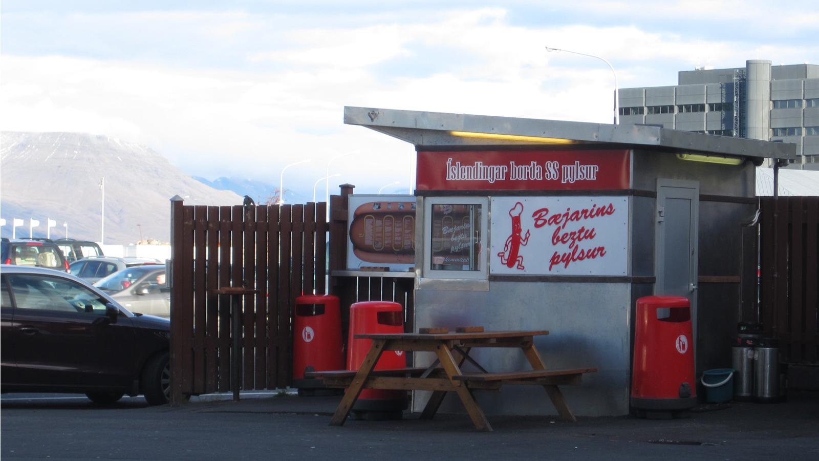 B Ef Bf Bdjarins Beztu Pylsur Hot Dog Stand