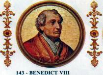 Resultado de imagen de 143.- BENEDICTO VIII ( 1012-1024 )