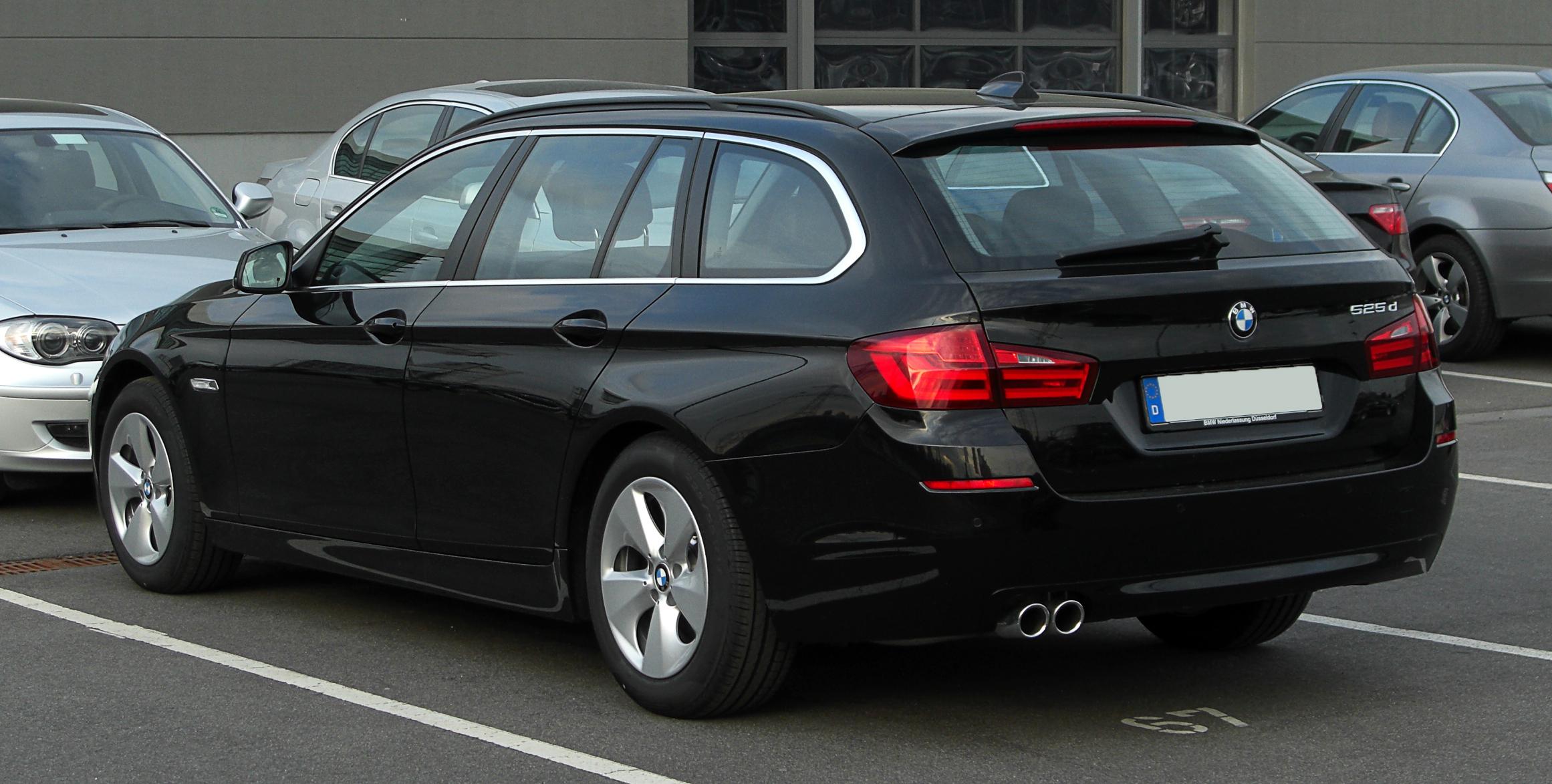 Bmw 525xd Bmw 5 Serie Touring 525xd High Executive 12mnd