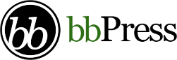"English: Logo of the software ""bbPress&qu..."