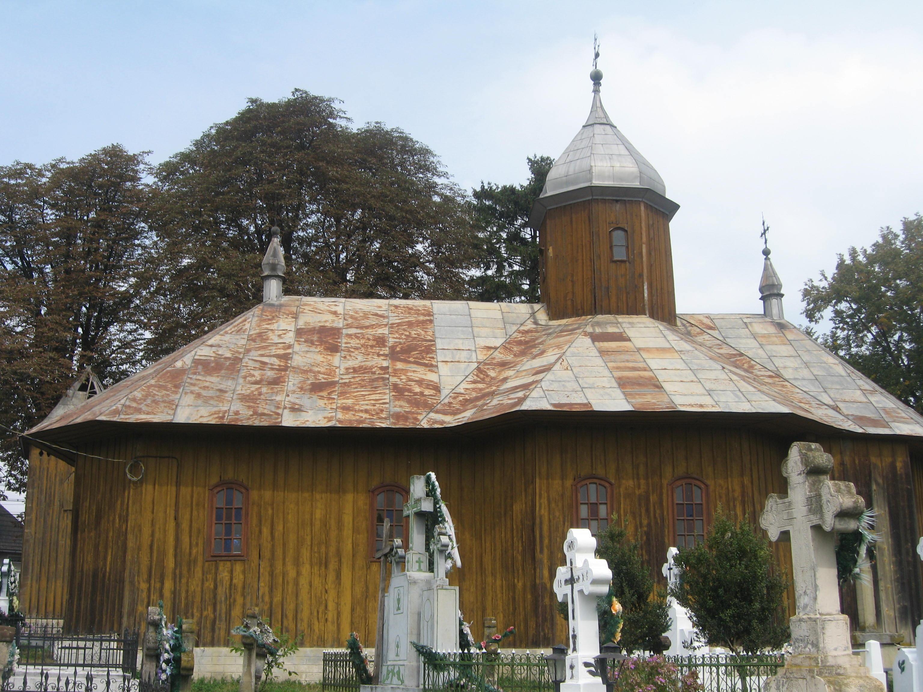 Biserica de lemn din Mănăstioara (Siret)