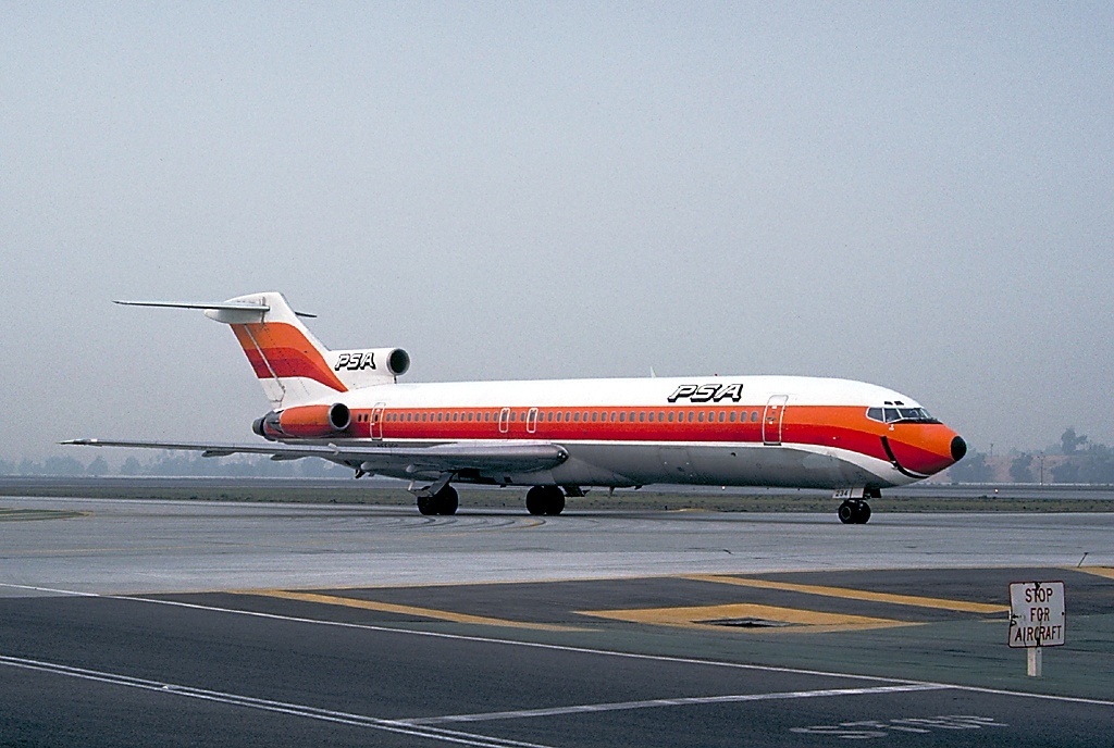 File:Boeing 727-214-Adv, PSA - Pacific Southwest Airlines ...