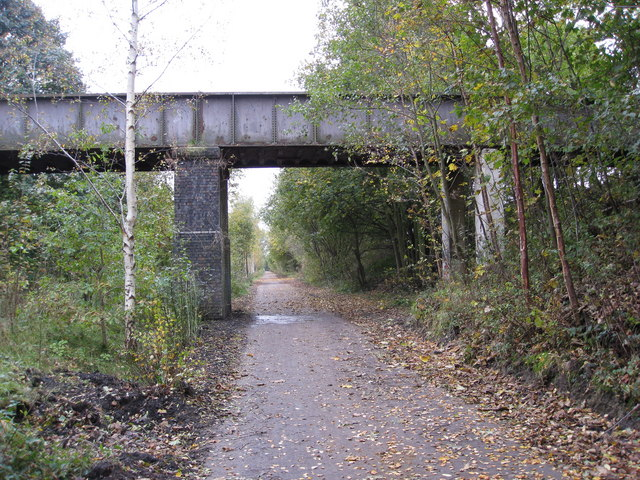 Boiley Lane Bridge seen from the Trans Pennine Trail - geograph.org.uk - 1024842