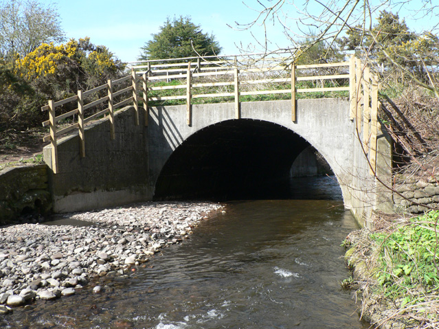 Bridge over Carron Water - geograph.org.uk - 1807796