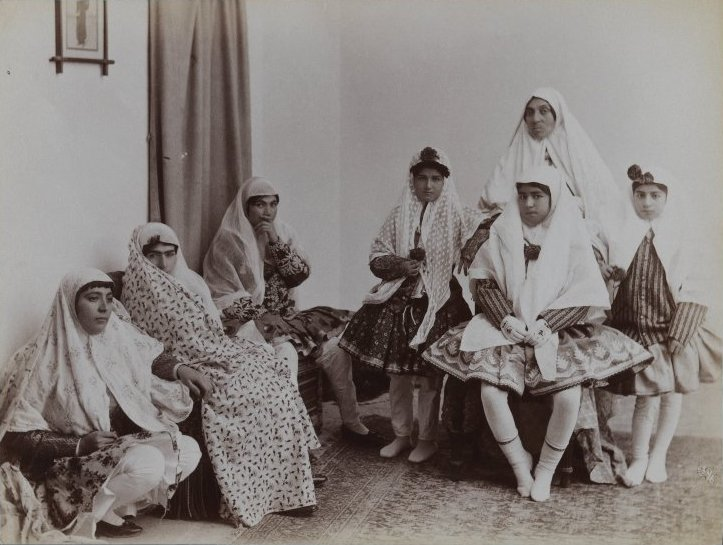 File:Brooklyn Museum - Harem Scene with Mothers and Daughters in Varying Costumes One of 274 Vintage Photographs.jpg