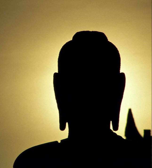 buddhist sunset