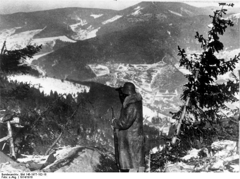 Bundesarchiv Bild 146-1977-102-18, Deutscher Soldat auf dem Hartmannsweilerkopf.jpg