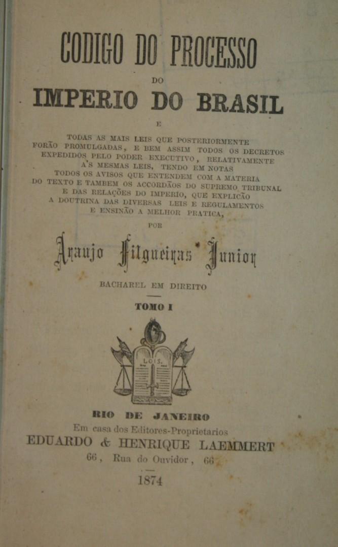 Veja o que saiu no Migalhas sobre Código do Processo Criminal de 1832
