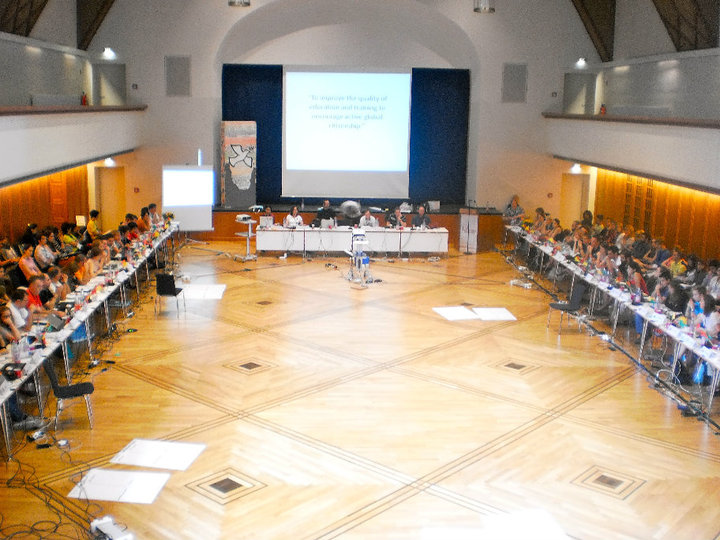File:CISV Board of Trustees in session AIM 2010.jpg