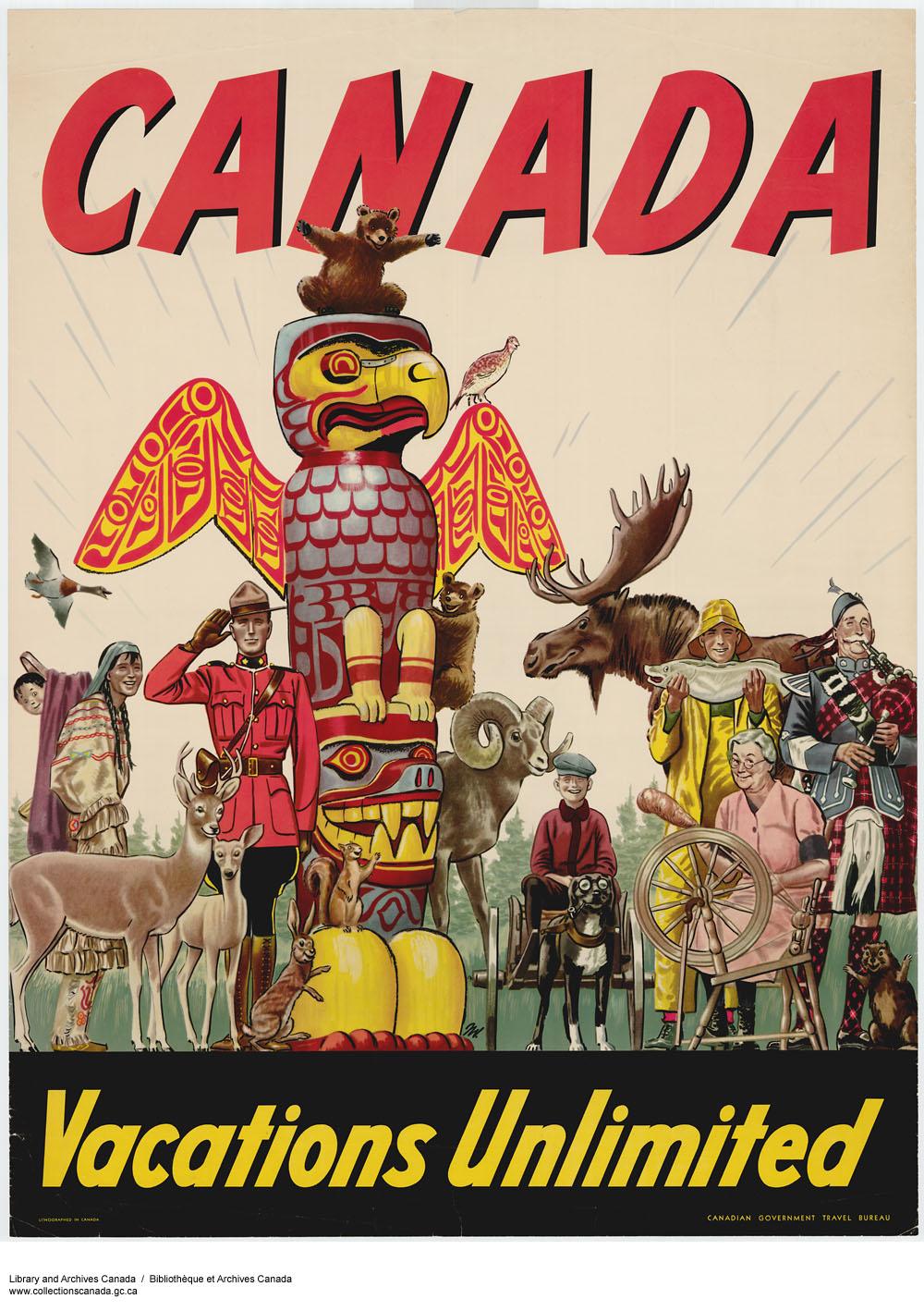 Vintage Travel Posters World Citites