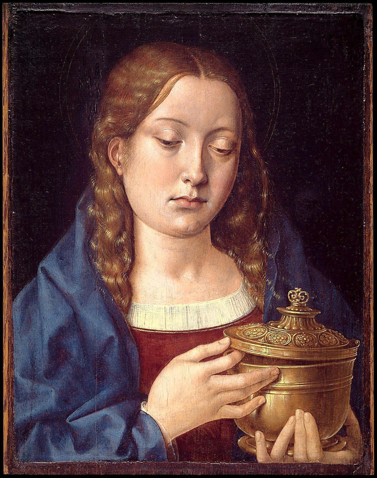Genealogía de los Reyes Católicos Catherine_of_Aragon_as_Mary_Magdalene