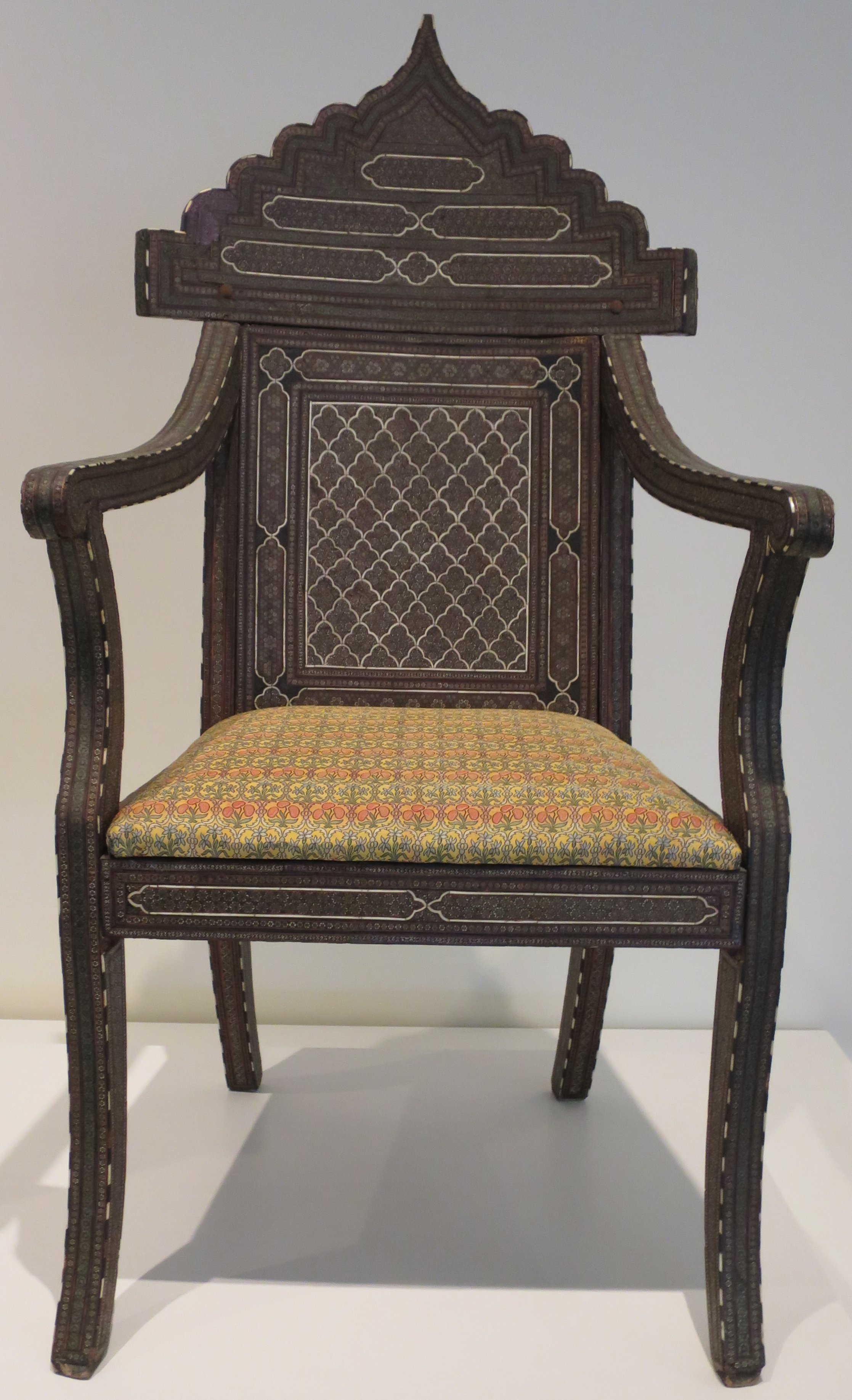 File Chair From Iran Doris Duke Foundation For Islamic