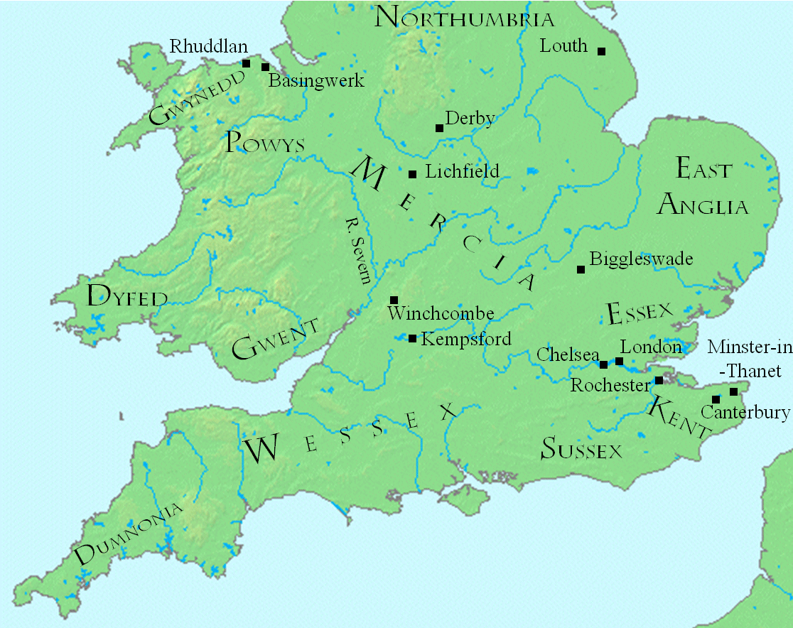 Mercia England Map.File Coenwulf Map Png Wikimedia Commons
