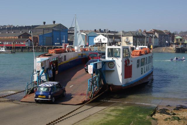 Cowes Floating Bridge 1