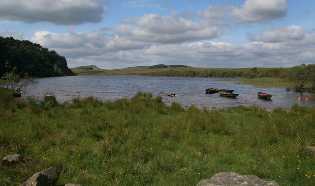 Crag Lough - geograph.org.uk - 1433396