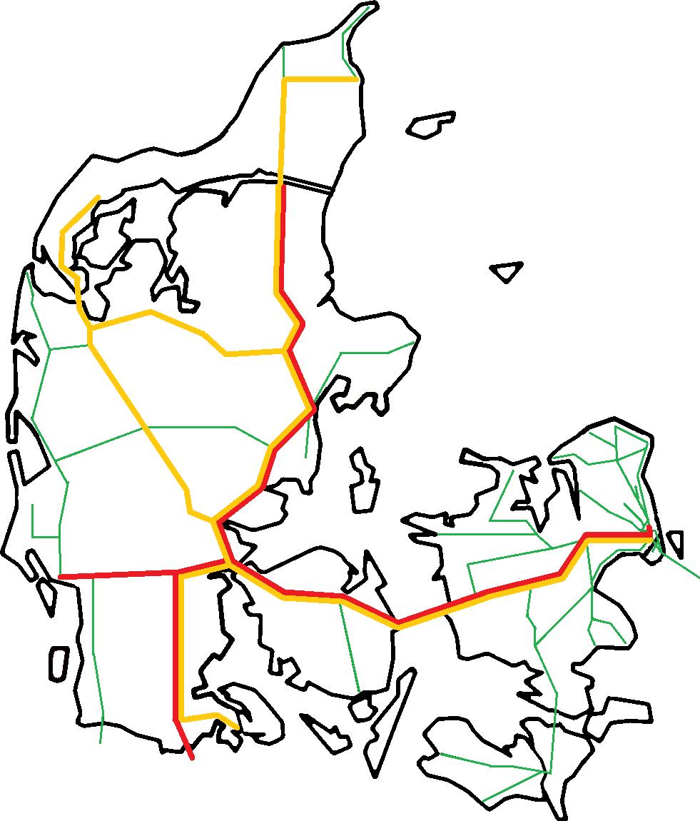 Karta Danmark Hirtshals.Denmark Getting There