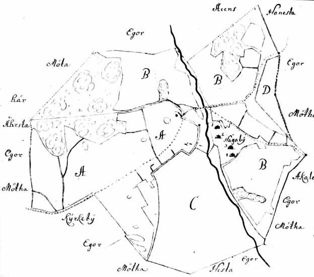 File Del Av Karta Over Haga By Jarfalla 1687 Jpg Wikimedia Commons