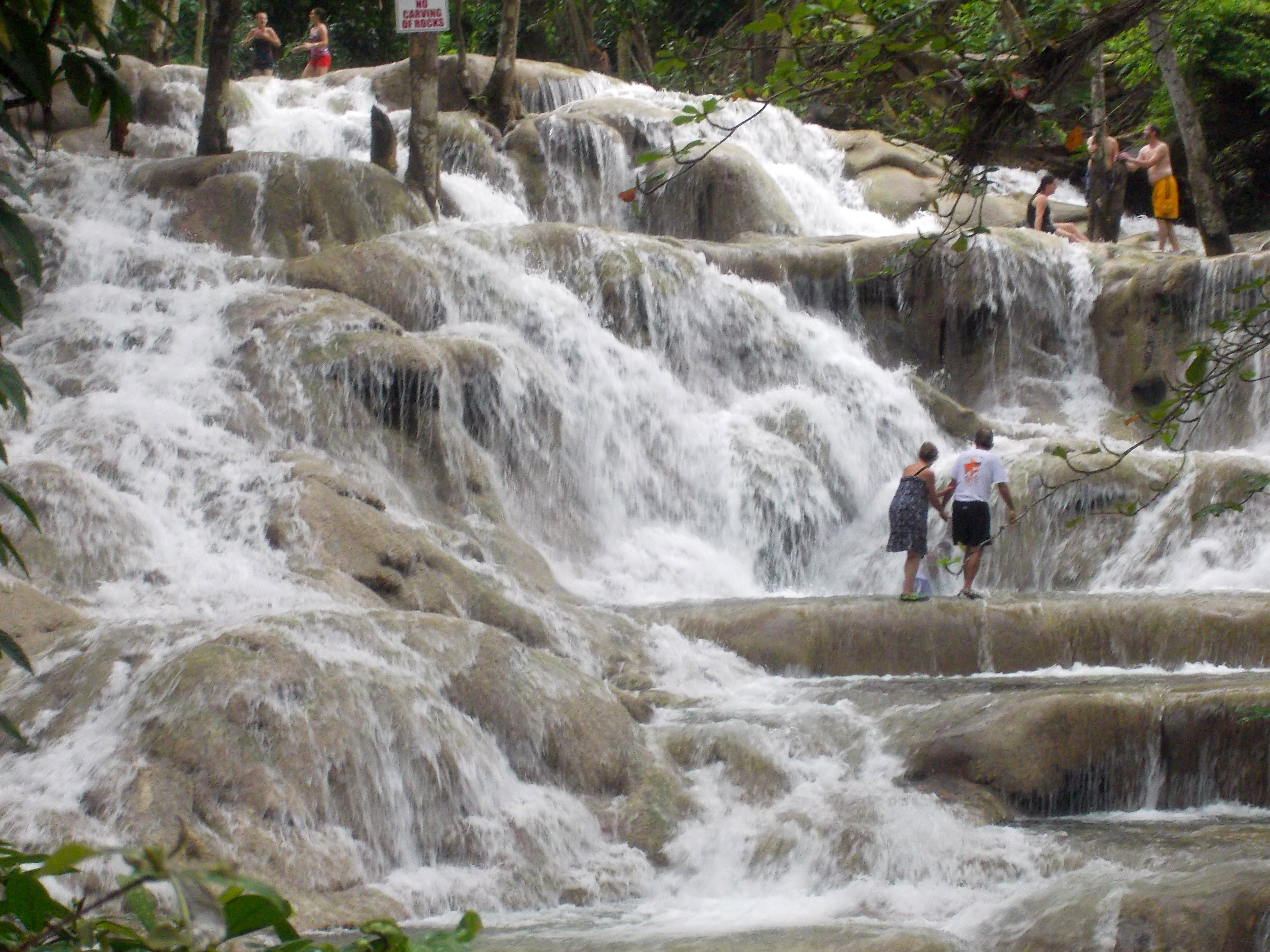 Dunns River Falls Youtube Island Routes