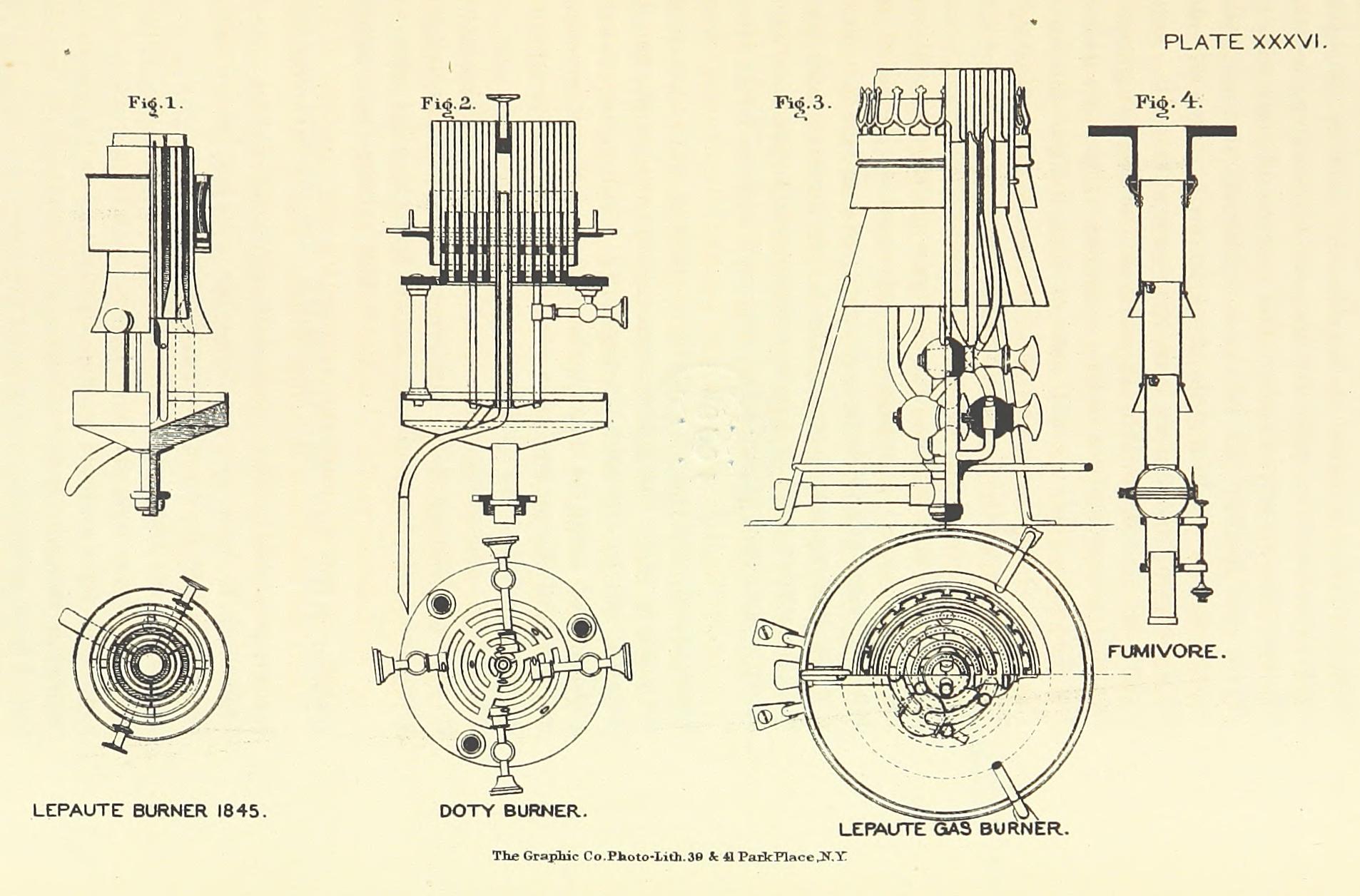 File:ELLIOT(1875) p293 - Plate XXXVI. Mineral-oil lamp, Lepaute's ...