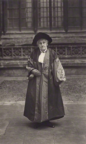 Dame Elizabeth Wordsworth in 1928